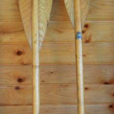 Decor cabana - Padela de kayaking din lemn, vasla kayak vintage, anii '60 - '70 - Caiac Canoe