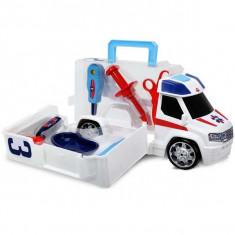 Masina ambulanta cu set ustensile medicale 20371600 Dickie - Vehicul