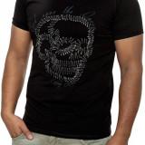 Tricou Barbati Open Jeans Negru 7000, Marime: L, Culoare: Din imagine