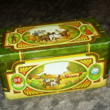 Antiq vintage Cutie veche cu capac dublu TRASURA CU CAI - 2+1 gratis RBK20075 - Metal/Fonta