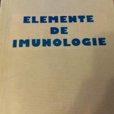Elemente de Imunologie, ed.