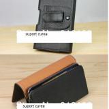 Husa suport curea Samsung Galaxy s4 piele eco - Husa Telefon, Samsung Galaxy A3, Piele Ecologica