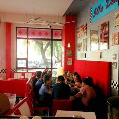 Canapea bar/restaurant de 6 locuri - Mobila pentru baruri si cluburi