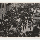 Targu Mures 1940 - intrarea armatei maghiare - Carte Postala Transilvania 1904-1918