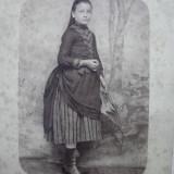 FOTOGRAFIE VECHE CARTONATA - DOMNISOARA, CCA 1880