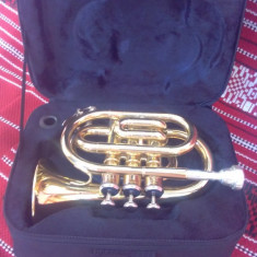 Trompeta Thomann TR + mustiuc + cutie originala
