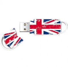 Memorie USB Integral Xpression Union Jack 2 32GB USB 2.0 White - Stick USB