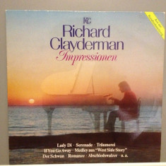RICHARD CLAYDERMAN - IMPRESSIONS (1982 /DECCA REC /RFG) - Vinil/Impecabil(NM) - Muzica Clasica decca classics