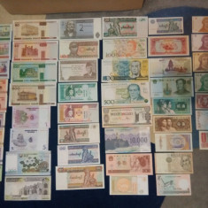 Lot bancnote (50 buc.) si lot monezi (50 buc.), Europa