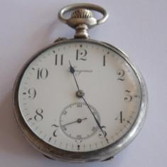 Ceas de buzunar din argint Longines Grand Prix Paris 1900 - Ceas de buzunar vechi