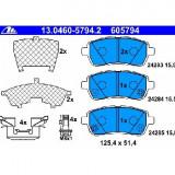 Set placute frana fata Ford Fiesta 6 VI fabricat incepand cu 06.2008 ATE 13. 0460-5794.2