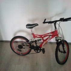 Bicicleta DHS copii - Bicicleta copii DHS, 10 inch, 20 inch, Numar viteze: 7
