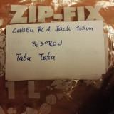 Cablu Jack 3, 5 - 2RCA Tata 1, 5m - Cablu Camera Video
