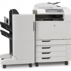 Multifunctionala laser color HP CM6040 MFP, Copiator, Scanner, Fax, ADF, Retea, A3, Duplex, Sorter - Imprimanta matriciale