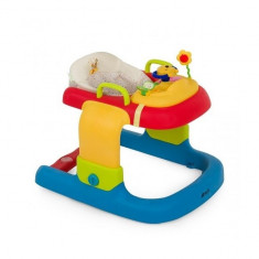 Premergator 2 in 1 Walker Stripe Pooh Ready to Play Hauck, Plastic, Multicolor