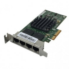 Placa de retea Gigabit, Quad Port, 10/100/1000, PCI-e 4x - Sistem server
