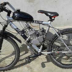 Bicicleta cu motor 80cc noua - Bicicleta electrice, 15 inch, 26 inch, Numar viteze: 7