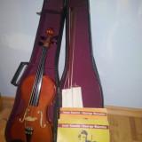 Set Vioara Clasica pentru incepatori si copii, nefolosita, + 2 carti de muzica