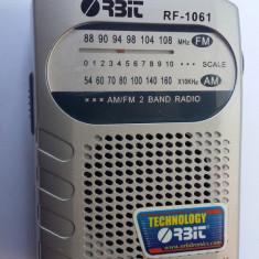 RADIO ORBIT AM /FM 2 Band Radio Receiver Earphones