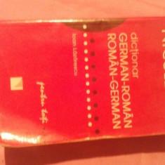 Dictionar german-roman & roman-german, edited Niculescu
