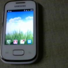 SAMSUNG GALAXY POCKET GT-S5300-NOU - Telefon mobil Samsung Galaxy Pocket, Alb