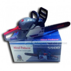 Drujba Micul Padurar 5900 Gri 3,1 CP 2,2 KW 8000/rpm