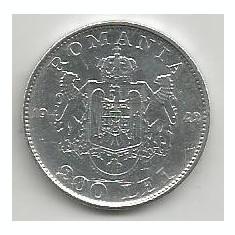 ROMANIA MIHAI I 200 LEI 1942 ARGINT [4] livrare in cartonas - Moneda Romania