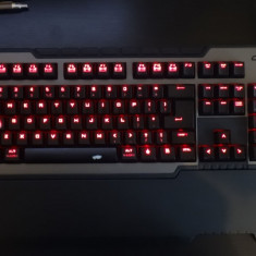 Tastatura Cooler Master mecanica CMStorm Trigger-Z Red Switches cu wrist-pad