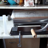 Masina de facut carnati 5,5 kg de inox  Micul Fermier