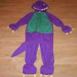 Costum carnaval serbare dinozaur pentru copii de 5-6 ani marime M - Costum copii, Marime: Masura unica, Culoare: Din imagine
