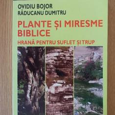 PLANTE SI MIRESME BIBLICE, hrana pt suflet si trup- OVIDIU BOJOR, R. DUMITRU - Carte tratamente naturiste