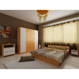 Mobila de dormitor moderna Mirela