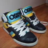 Osiris NYC 83 (Black / Cyan / Yellow) - Adidasi barbati osiris, Marime: 42, Culoare: Din imagine
