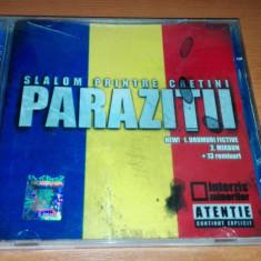 Paraziții - Slalom printre cretini (remix-uri) - Muzica Hip Hop cat music, CD