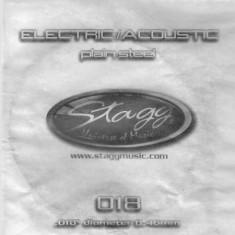 Coarda chitara electrica/acustica Stagg PLS-018