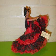 PAPUSA spaniola de COLECTIE marca MARIN CHICLANA, dansatoare de FLAMENCO (3) - Papusa de colectie