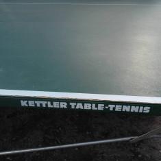 Vand masa de ping-pong mobila si transportabila - Masa ping pong Nespecificat