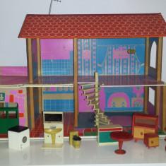 Casa mare din lemn pentru papusi oferta!