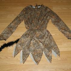 Costum carnaval serbare leopard pentru copii de 10-11-12 ani - Costum Halloween, Marime: Masura unica, Culoare: Din imagine
