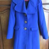 Palton - Palton barbati, XS, Microfibra, Albastru