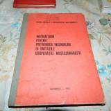 INSTRUCTIUNI PENTRU PREVENIREA INCENDIILOR IN UNITATILE COOPERATIEI MESTESUGARE