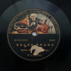 DISC ROMANESC PATEFON GRAMOFON REG. 6 MIHAI VITEAZUL PERFECTION CONCERT RECORD
