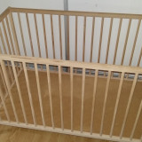 Patut Ikea - Patut lemn pentru bebelusi, 120x60cm