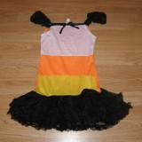 Costum carnaval serbare vrajitoare pentru copii de 8-9-10 ani - Costum copii, Marime: Masura unica, Culoare: Din imagine
