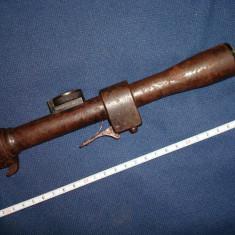 Luneta militara austro ungara WW1 carabina Mannlicher/colectie/panoplie/decor