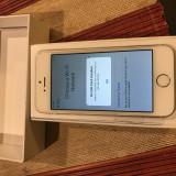 iPhone 5S Apple 16gb, alb, stare perfecta, neverlocked, Argintiu, Neblocat