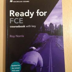 Carte engleza ready for fce coursebook roy norris first cambridge english ieftin - Curs Limba Engleza Altele