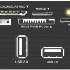 Card reader RaidSonic ICY BOX IB-867 USB 3.0 Multicard Rearder Negru