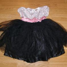 Costum carnaval serbare rochie gala pentru copii 3 ani - Costum Halloween, Marime: Masura unica, Culoare: Din imagine