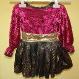 Costum de carnaval serbare rochie dans pentru copii de 1-2 ani - Costum Halloween, Marime: Masura unica, Culoare: Din imagine